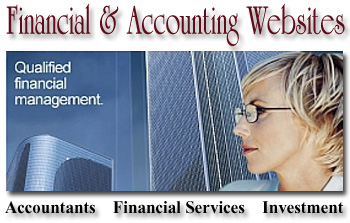 financial website image
