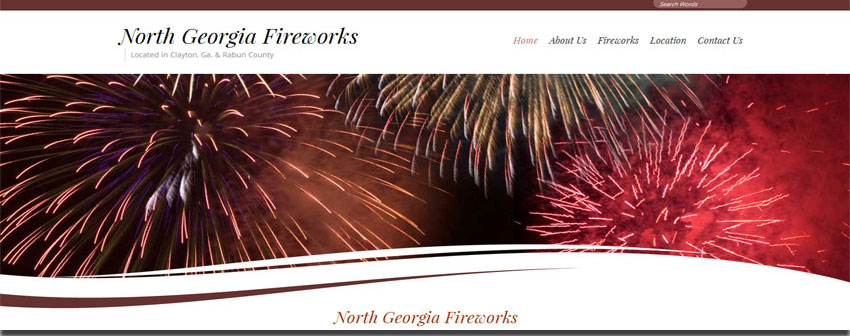 north georgia fireworks website image