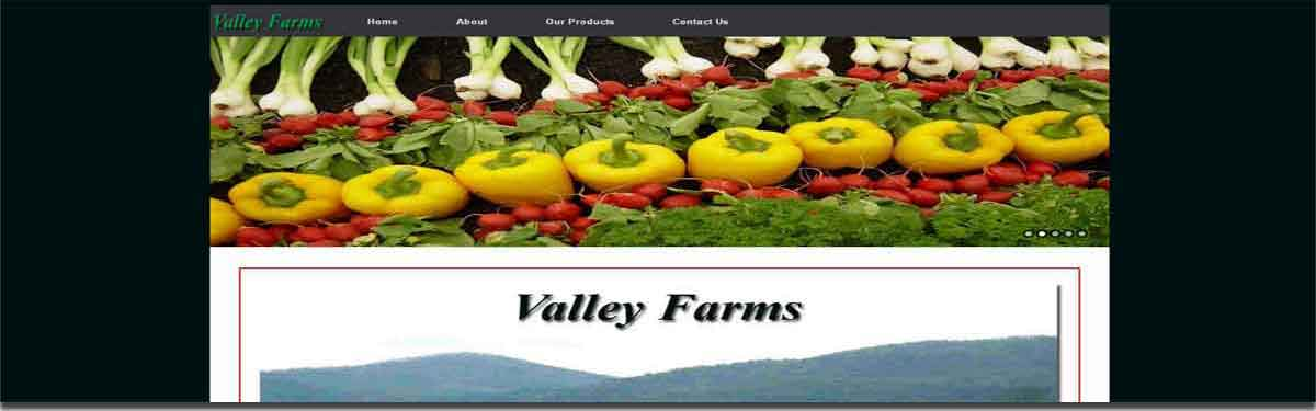 valley farms website image