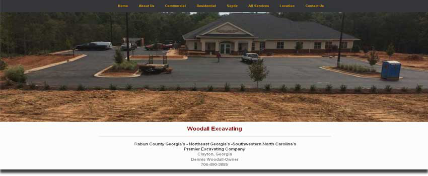 woody website image