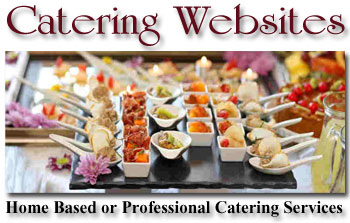 food catering website image
